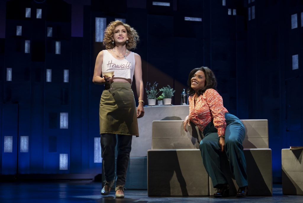 Audrey Cardwell and Bryonha Marie Parham in FALSETTOS presented by Broadway On Tour March 12-17, 2019 at the Sacramento Community Center Theater. Photo by Joan Marcus.