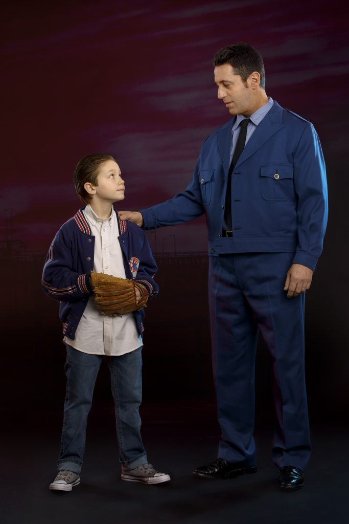 Young Calogero and Lorenzo in A BRONX TALE presented by Broadway On Tour Mar. 3 – 8, 2020 at Memorial Auditorium. Photo by Joan Marcus.