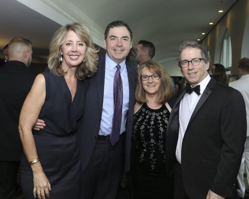 Beth & Kevin Duggan, Andrea & Steven Weiss at the Broadway Sacramento Gala May 4, 2019