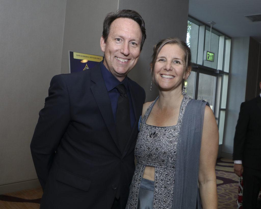Bill Blake & Emily Ellis at the Broadway Sacramento Gala May 4, 2019