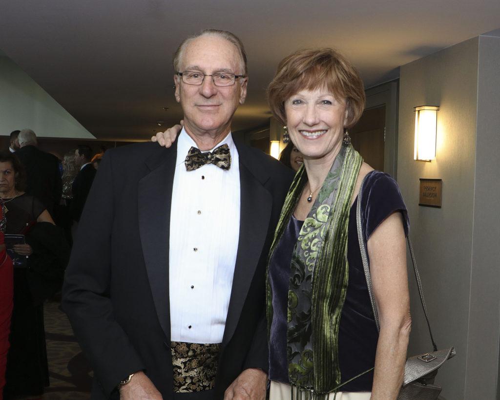 Bruce Hester & Elfrena Foord at the Broadway Sacramento Gala May 4, 2019