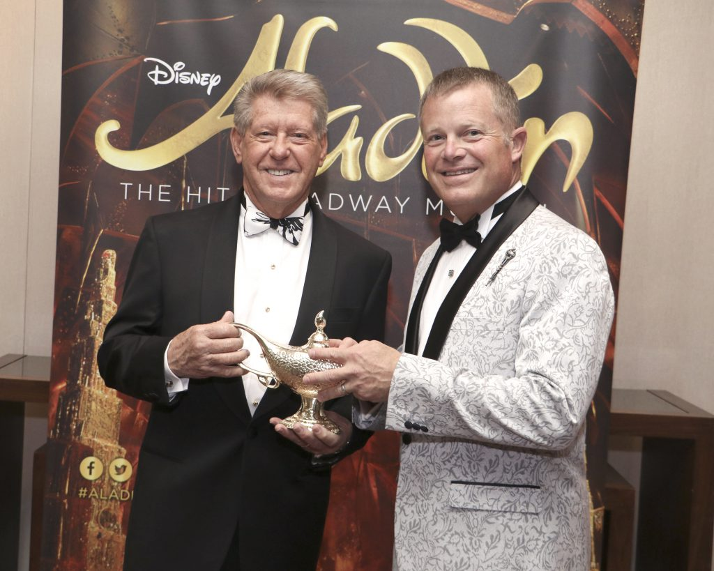 Dennis Mangers & Michael Sestak at the Broadway Sacramento Gala May 4, 2019