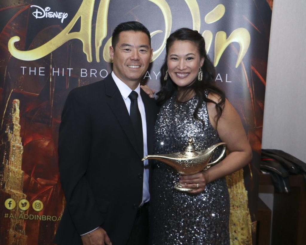 Gregory & Candace Fong at the Broadway Sacramento Gala May 4, 2019
