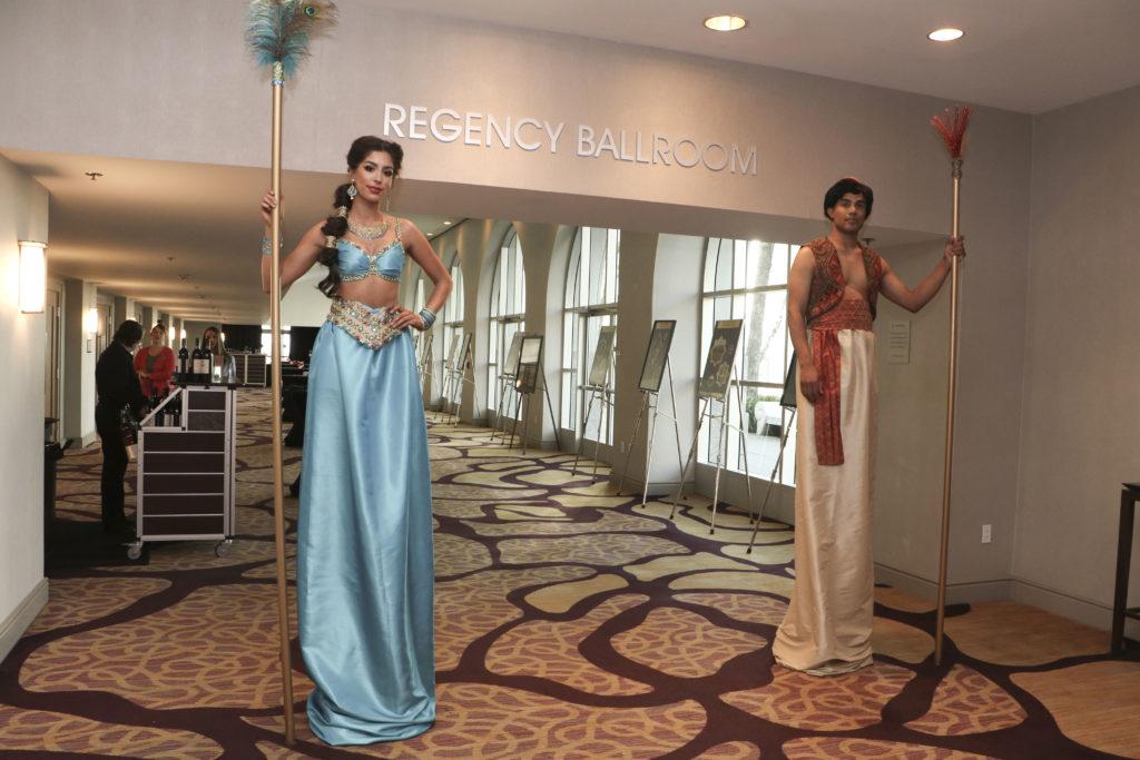 Jasmine & Aladdin Glamazons at the Broadway Sacramento Gala May 4, 2019