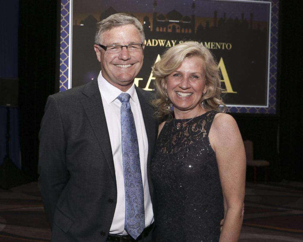 Jim & Laura Wiley at the Broadway Sacramento Gala May 4, 2019