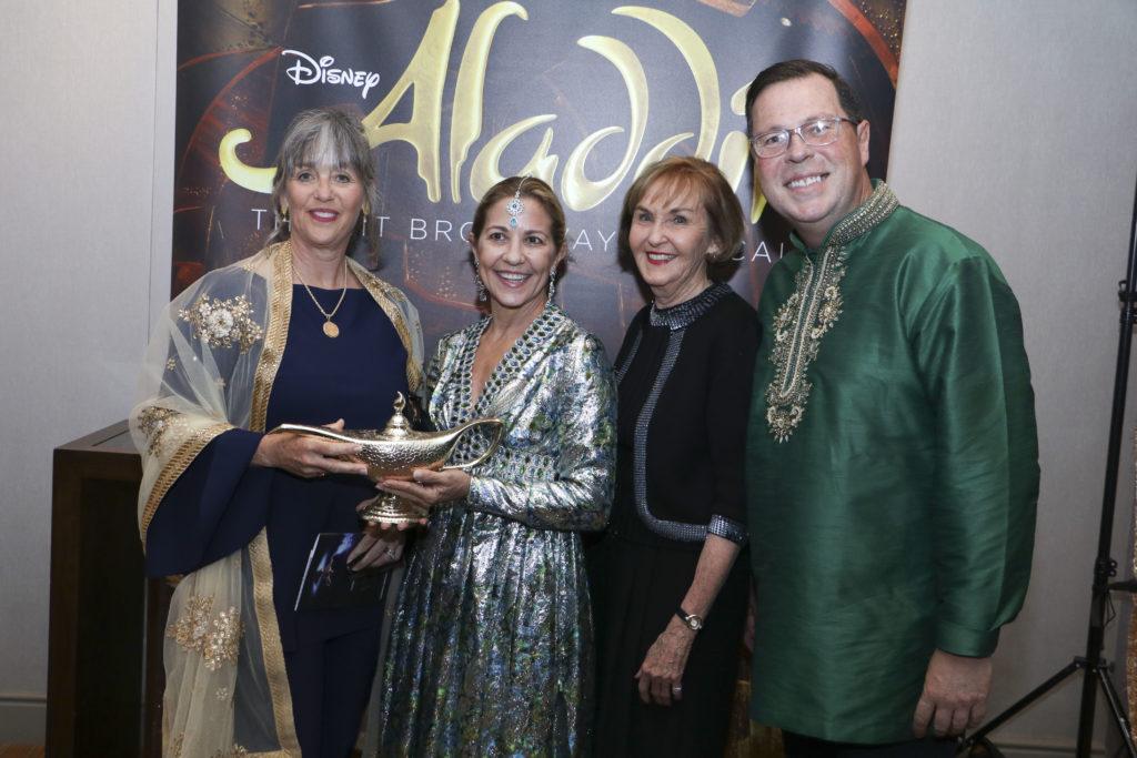 Laura Lyon, Laura Farrior, Karine Lyon, Joe Wilson at the Broadway Sacramento Gala May 4, 2019