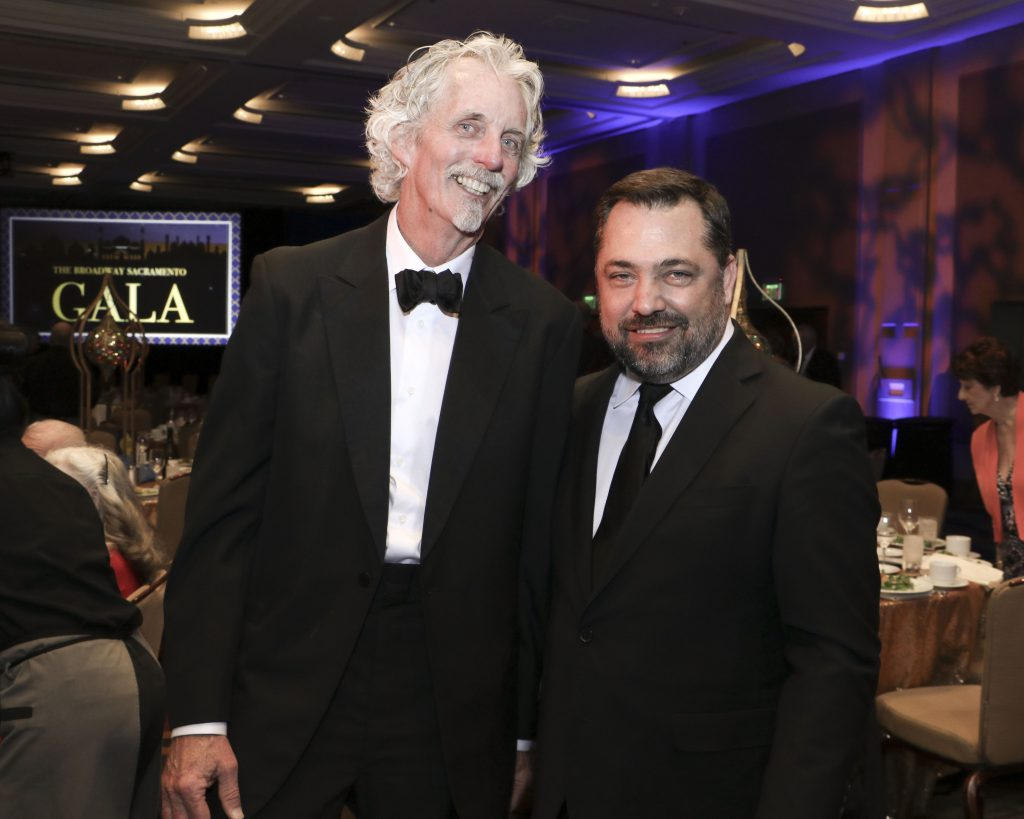 Martin Steiner & Scott Klier at the Broadway Sacramento Gala May 4, 2019
