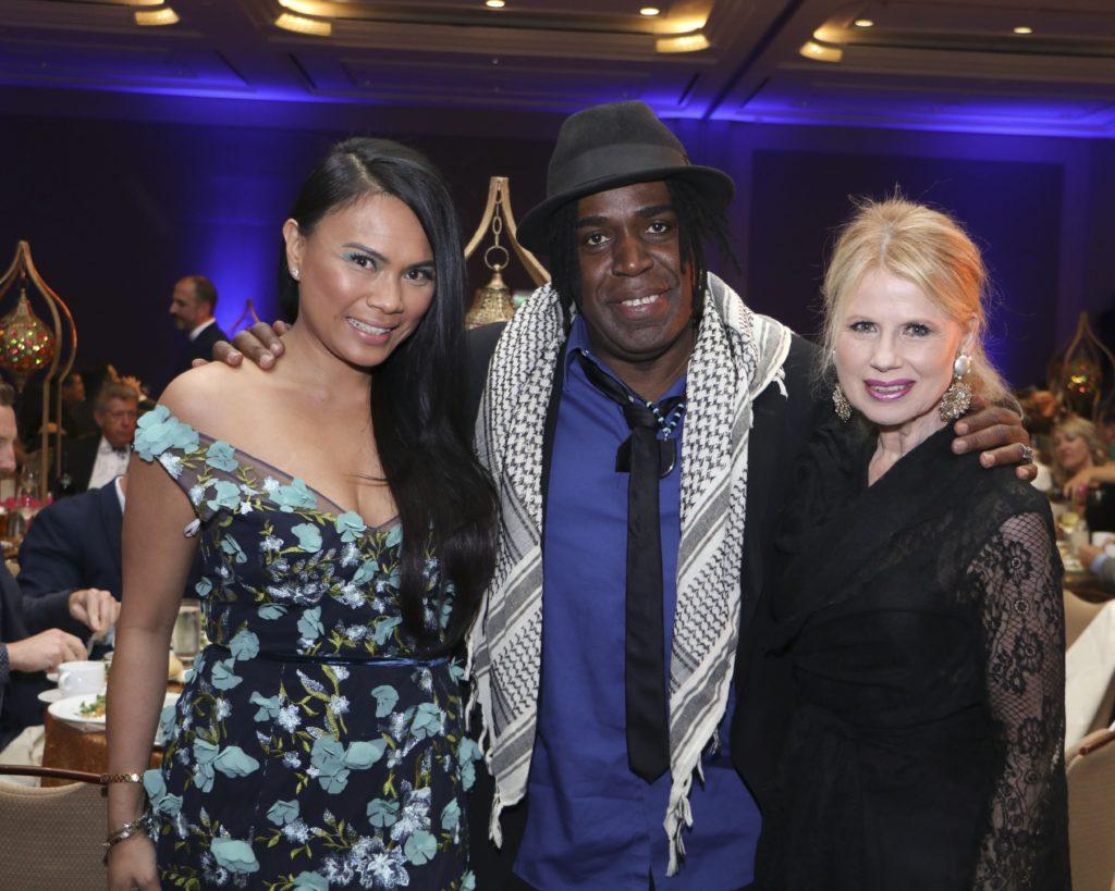 Putu Blanco, Clemon Charles, Kitty O'Neal at the Broadway Sacramento Gala May 4, 2019