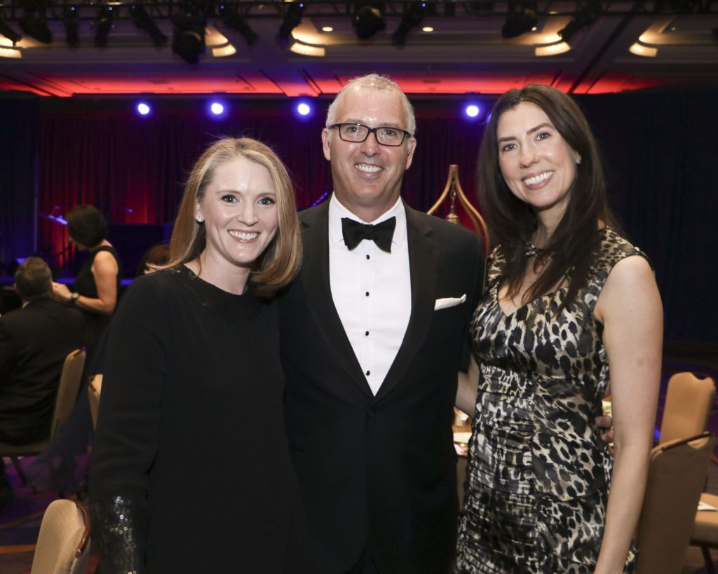 Shannon Beckwith, Jimmy Henderson, Kristen Franz at the Broadway Sacramento Gala May 4, 2019
