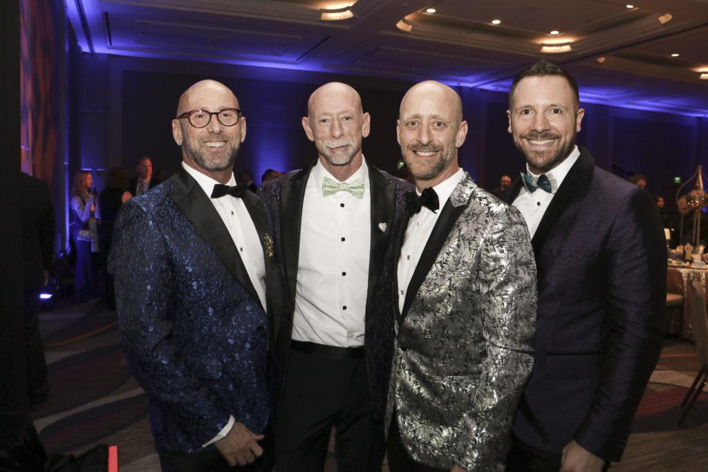 Stephen Crouse, Gregg Smith-McCurdy, Matt Donaldson, Steve Kyriakis at the Broadway Sacramento Gala May 4, 2019