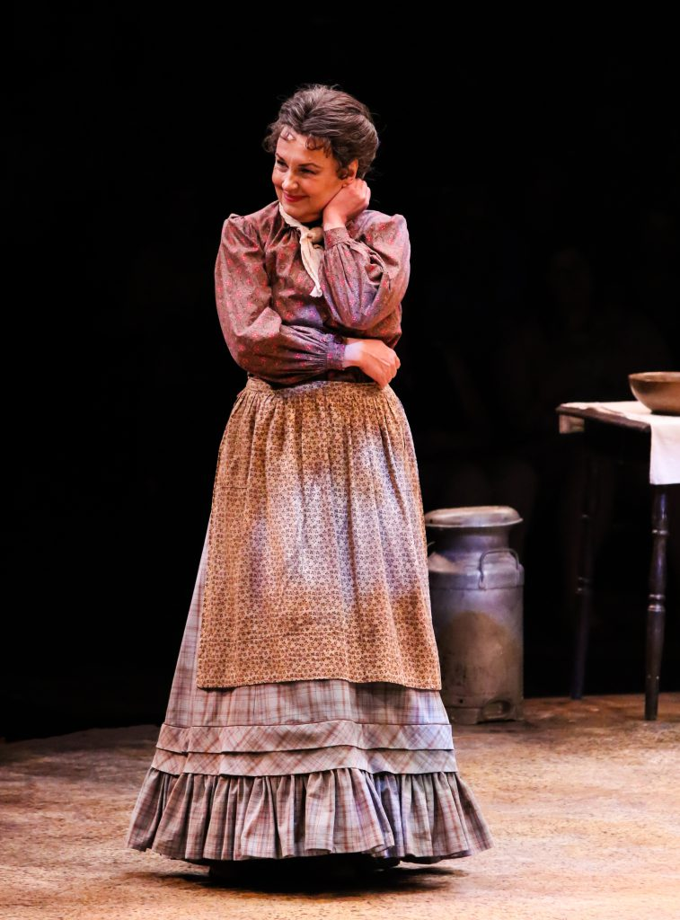 Jennifer Allen as Aunt Eller in OKLAHOMA! produced by Broadway At Music Circus at the Wells Fargo Pavilion June 25-30. Photo by Charr Crail.