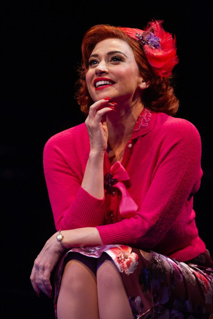 Lesli Margherita as Miss Adelaide in GUYS AND DOLLS produced by Broadway At Music Circus at the Wells Fargo Pavilion July 23-28. Photo by Kevin Graft.