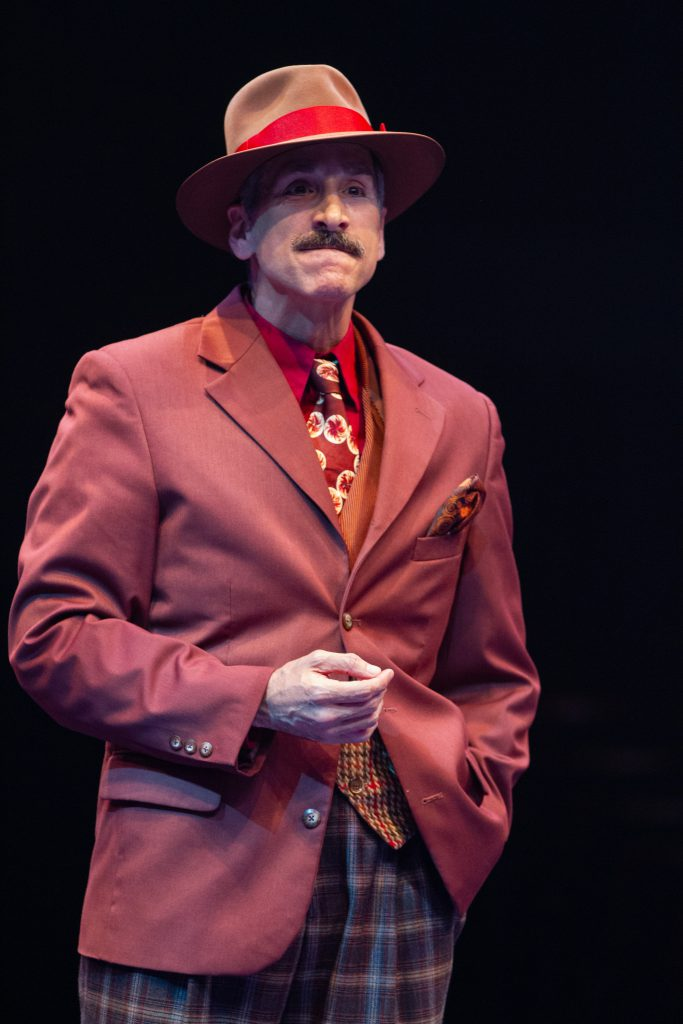 Michael Paternostro as Benny Southstreet in GUYS AND DOLLS produced by Broadway At Music Circus at the Wells Fargo Pavilion. Photo by Kevin Graft.