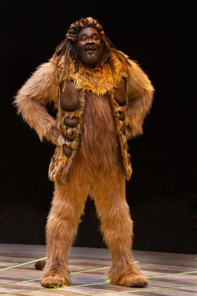 Phillip Boykin as Lion in THE WIZ produced by Broadway At Music Circus at the Wells Fargo Pavilion August 6-11. Photo by Kevin Graft.