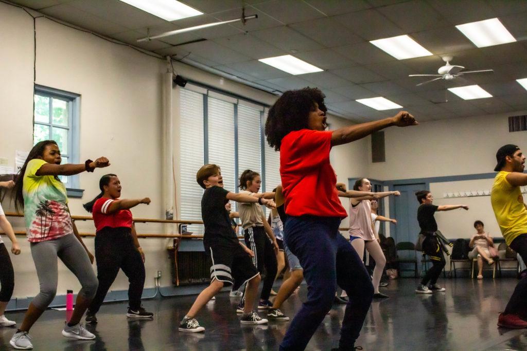 Aurelia Michael & Edward Cuellar Master Dance Class 2019