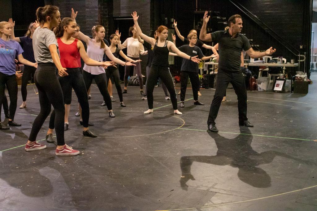 Brad Bradley Dance Class