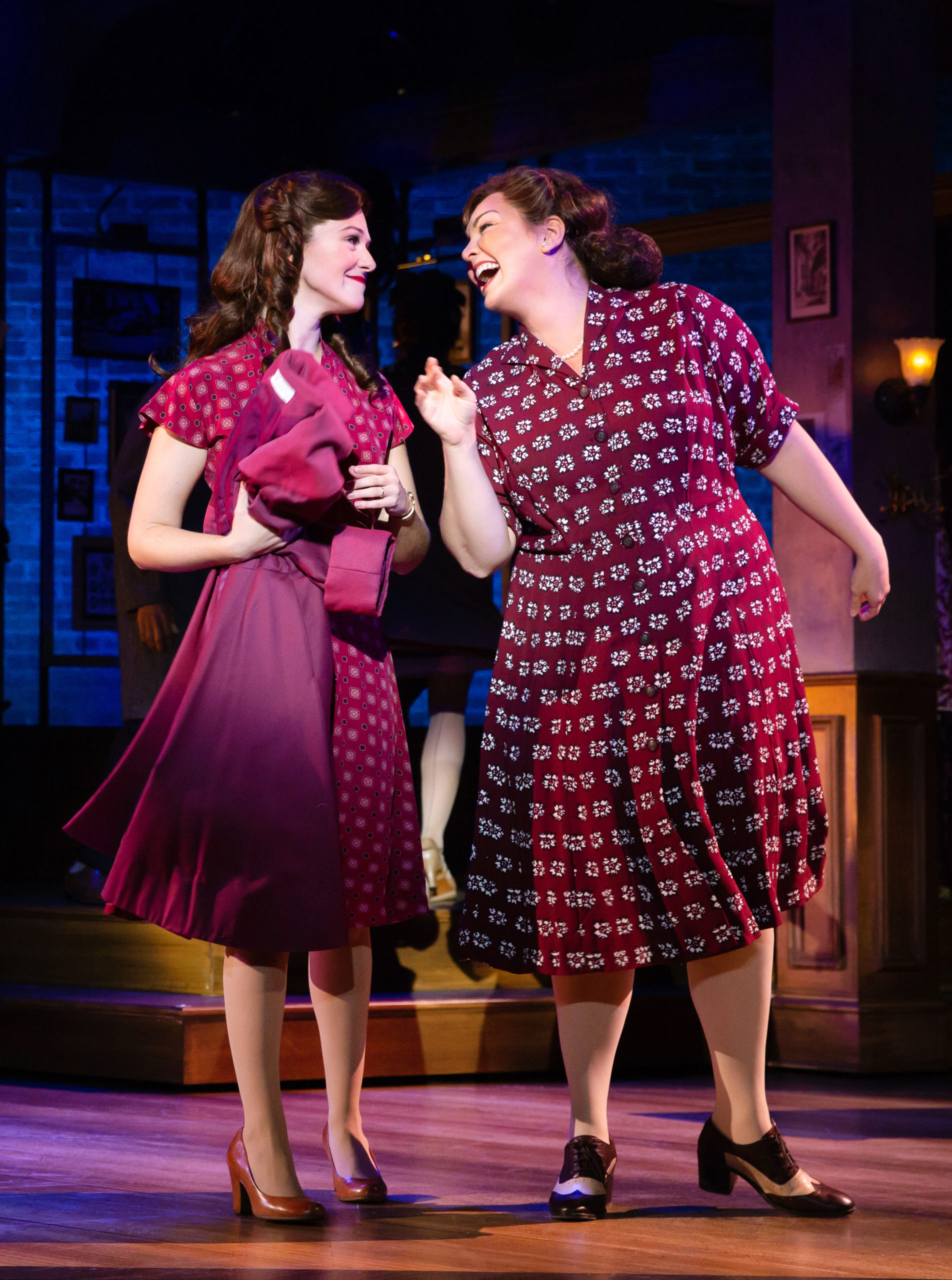 Jennifer Elizabeth Smith and Roxy York in BANDSTAND presented by Broadway On Tour Apr. 7 – 12, 2020 at Memorial Auditorium. Photo by Jeremy Daniel.