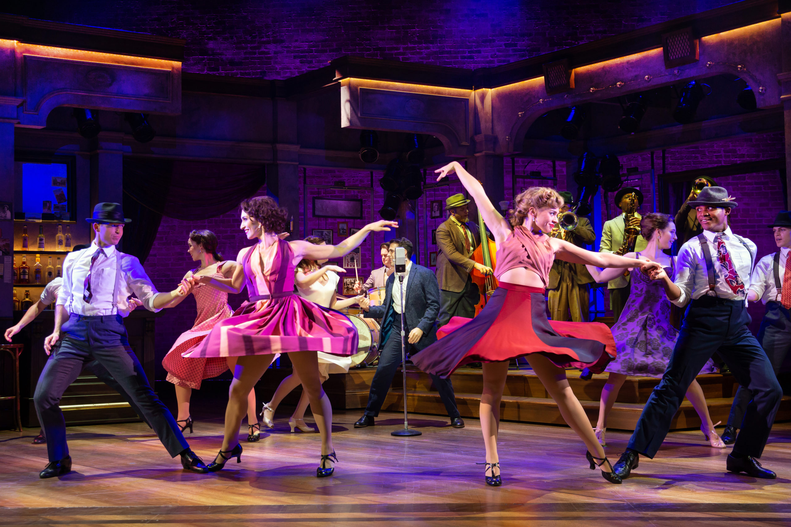 The company of BANDSTAND presented by Broadway On Tour Apr. 7 – 12, 2020 at Memorial Auditorium. Photo by Jeremy Daniel.