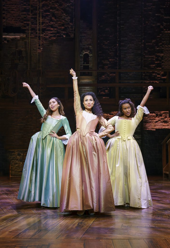 Company of HAMILTON presented by Broadway On Tour September 15 – October 10, 2021 at the SAFE Credit Union Performing Arts Center. Photo by Joan Marcus.