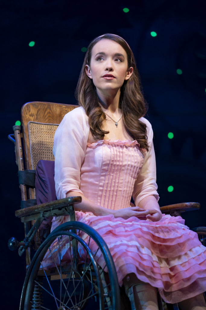 Amanda Fallon Smith in WICKED presented by Broadway On Tour at the SAFE Credit Union Performing Arts Center March 30 – April 24, 2022. Photo by Joan Marcus.