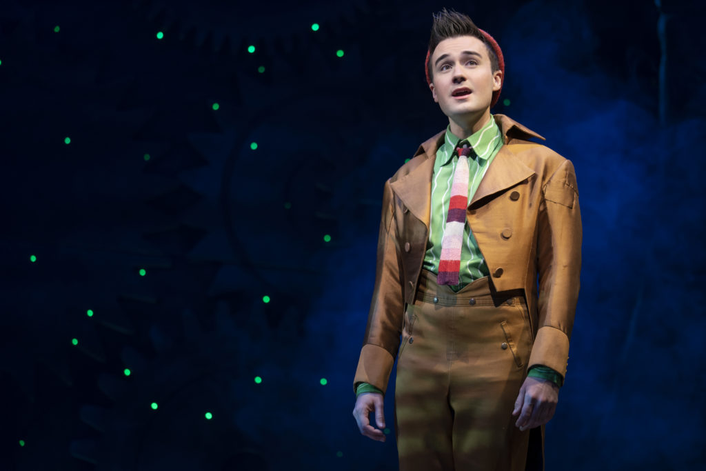 DJ Plunkett in WICKED presented by Broadway On Tour at the SAFE Credit Union Performing Arts Center March 30 – April 24, 2022. Photo by Joan Marcus.